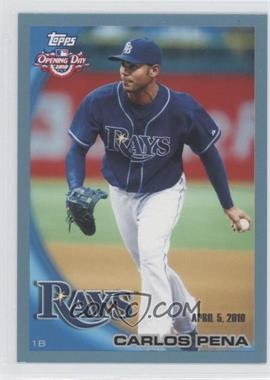 2010 Topps Opening Day Blue #168 - Carlos Pena /2010