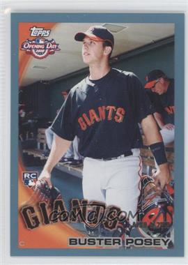 2010 Topps Opening Day Blue #207 - Buster Posey /2010