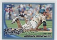 Adrian Gonzalez /2010