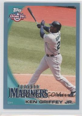 2010 Topps Opening Day Blue #42 - Ken Griffey Jr. /2010