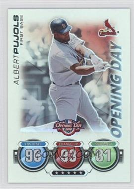 2010 Topps Opening Day Topps Attax #N/A - Albert Pujols