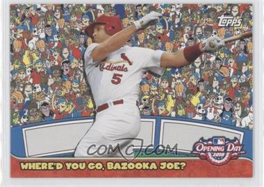 2010 Topps Opening Day Where'd You Go, Bazooka Joe? #4 - Albert Pujols