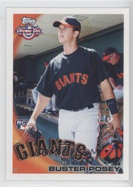 2010 Topps Opening Day #207 - Buster Posey