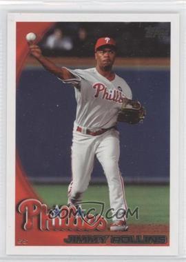 2010 Topps Philadelphia Phillies #PHI13 - Jimmy Rollins
