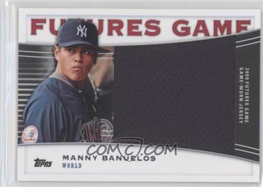 2010 Topps Pro Debut - Futures Game Relics #FGR-MBA - Manny Barreda /139