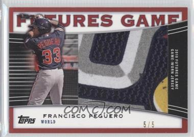 2010 Topps Pro Debut Futures Game Relics Red Border Patch #FGR-FP - Francisco Peguero /5