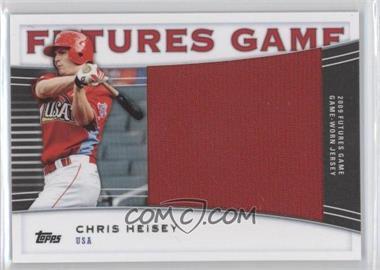 2010 Topps Pro Debut Futures Game Relics #FGR-CH - Chris Hernandez /139