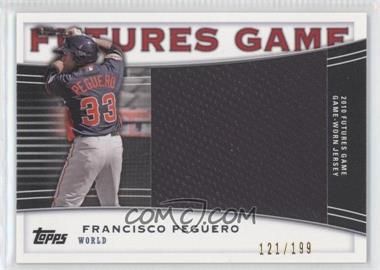 2010 Topps Pro Debut Futures Game Relics #FGR-FP - Francisco Peguero /199