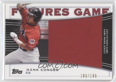 2010 Topps Pro Debut Futures Game Relics #FGR-HC - Hank Conger /199