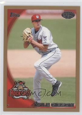 2010 Topps Pro Debut Gold #275 - Kyle Gibson /50