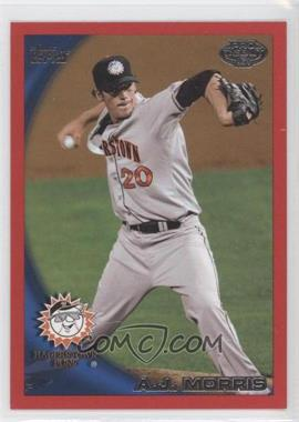 2010 Topps Pro Debut Red #251 - A.J. Morris /1