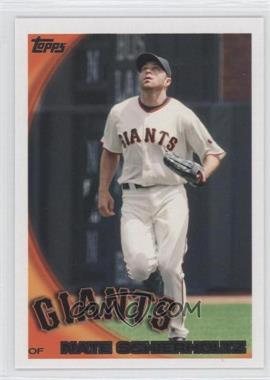 2010 Topps San Francisco Giants #SFG17 - Nate Schierholtz