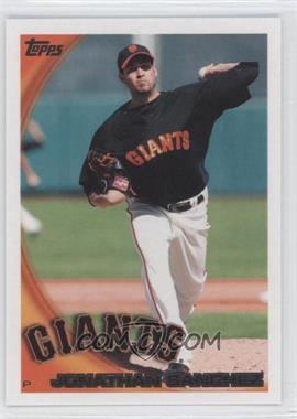 2010 Topps San Francisco Giants #SFG2 - Jonathan Sanchez