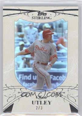 2010 Topps Sterling [???] #26 - Chase Utley /3