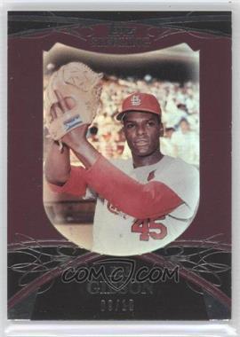2010 Topps Sterling [???] #45 - Bob Gibson /10