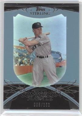2010 Topps Sterling [???] #7 - Mickey Mantle /250