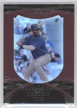 2010 Topps Sterling Burgundy #6 - Starlin Castro /10