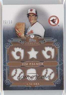 2010 Topps Sterling Stats Relic #SSR-104 - Jim Palmer /10