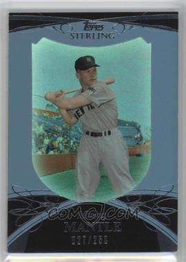 2010 Topps Sterling #7 - Mickey Mantle /250