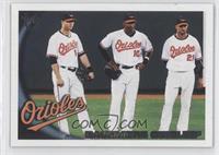 Baltimore Orioles (Nolan Reimold, Adam Jones, Nick Markakis)