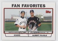 Fan Favorites (Ichiro Suzuki, Albert Pujols)