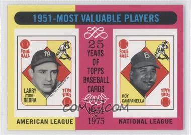 2010 Topps The Cards Your Mom Threw Out #CMT140 - Yogi Berra, Roy Campanella
