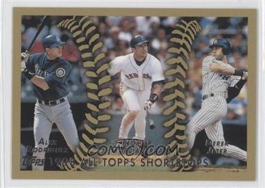 2010 Topps The Cards Your Mom Threw Out #CMT164 - 1998 All-Topps Shortstops (Alex Rodriguez, Nomar Garciaparra, Derek Jeter)