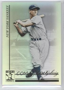 2010 Topps Tribute - [Base] #18 - Lou Gehrig