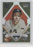 Topps 205 - Mickey Mantle