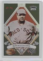 Topps 205 - Babe Ruth