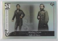 Abraham Lincoln, Jefferson Davis