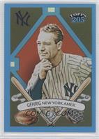 Lou Gehrig /399