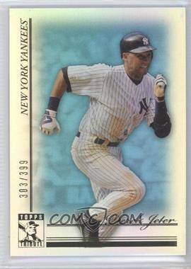 2010 Topps Tribute Blue #75 - Derek Jeter /399