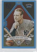 Topps 205 - Lou Gehrig /399