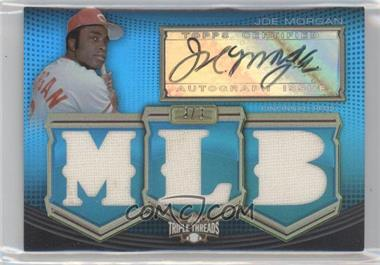 2010 Topps Triple Threads - [???] #TTAR-JM - Joe Morgan /3