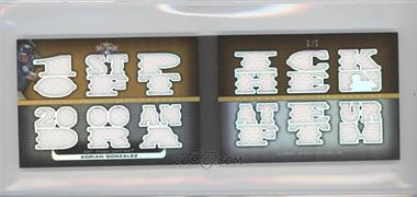 2010 Topps Triple Threads - [???] #TTXXIV10 - Adrian Gonzalez /9