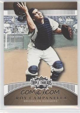 2010 Topps Triple Threads - [Base] - Gold #57 - Roy Campanella /99
