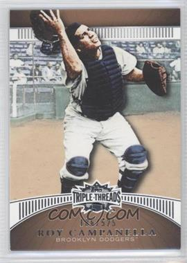 2010 Topps Triple Threads - [Base] - Sepia #57 - Roy Campanella /525