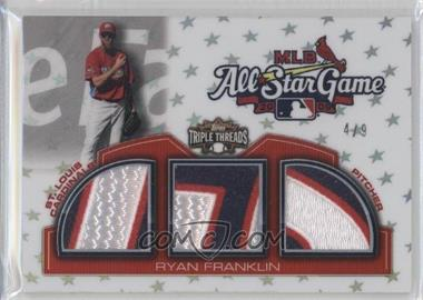 2010 Topps Triple Threads [???] #TTASP-32 - Ryan Franklin /9