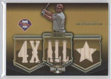 2010 Topps Triple Threads [???] #TTR-6 - Chase Utley