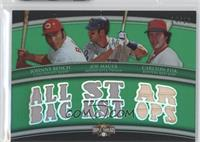 Johnny Bench, Joe Mauer, Carlton Fisk /18