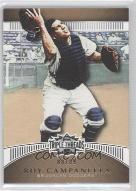 2010 Topps Triple Threads Gold #57 - Roy Campanella /99