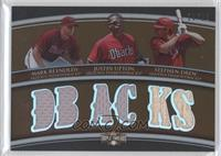 Mark Reynolds, Justin Upton, Stephen Drew /27