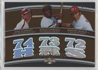 Mike Schmidt, Willie Stargell, Johnny Bench /27