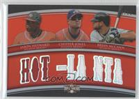 Jason Heyward, Chipper Jones, Brian McCann /36