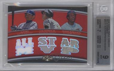 2010 Topps Triple Threads Relic Combos #TTRC-21 - [Missing] /36 [BGS 9]