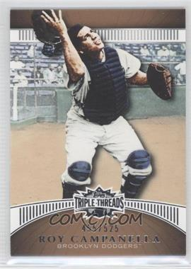 2010 Topps Triple Threads Sepia #57 - Roy Campanella /525