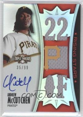 2010 Topps Triple Threads #157 - Andrew McCutchen /99