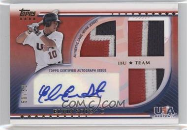 2010 Topps USA Baseball Team - Autograph Relics - Patches #USAAR-ES - Elvin Soto /50