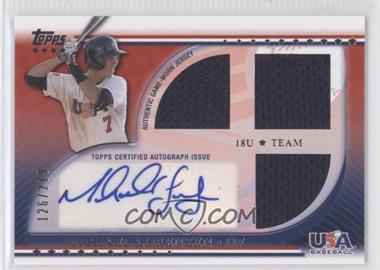 2010 Topps USA Baseball Team - Autograph Relics #USAAR-MLO - Michael Lorenzen /219